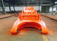 Hitachi EX1100 Excavator Rock Ripper , High Reach Excavator Arm For Sea Port Construction