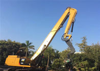 Small Vibratory Pile Hammer , Hydraulic Vibratory Hammer For Excavator Cat 349D
