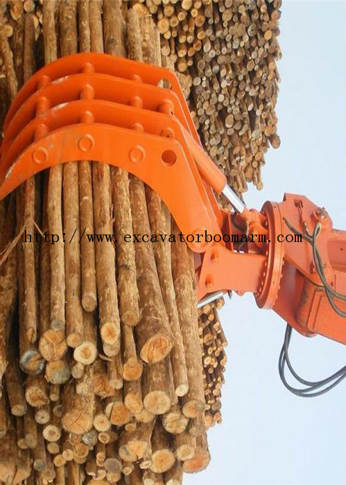 Heavy Duty Excavator Rotating Grapple Mini Excavator Spare Parts Wear Resistance