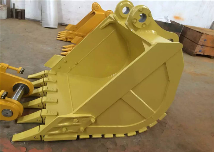 Heavy Duty Excavator Bucket , Earthmoving Cat Ditching Bucket For Excavator
